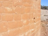 Close up of stonework at Hackberry Unit, Hovenweep National Monument