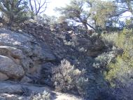 Rubble of ruins at Hackberry Unit, Hovenweep National Monument