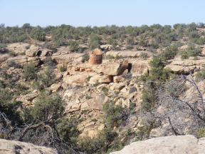 Round Tower at Hackberry Unit, Hovenweep National Monument