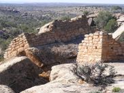 This boulder shifted after the site was abandoned some seven hundred years ago and is named Tilted Tower