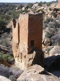 Holly Tower in Keeley Canyon