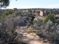 Multiple Ruins sit along the Little Ruin Trail, Hovenweep National Monument