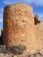 Close up of Hovenweep Castle