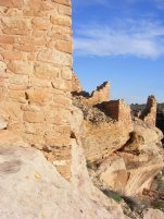 Hovenweep Castle in evening sun