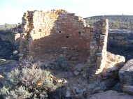 Tower Point ruin along the Little Rim Trail, Hovenweep National Monument