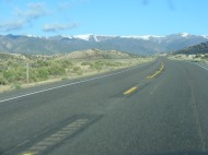 A fine day for driving across Utah on U.S. 50; between Scipio and Salina