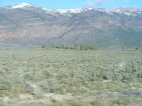 Looking north of U.S. 50 between Scipio and Salina, Utah