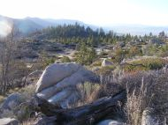 Above Laufman Campground, looking north in the Plumas National Forest