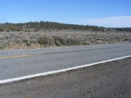 State Highway 139 between Susanville and Adin, California