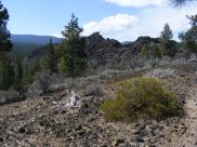 Hiking on the Big Nasty Trail, Lava Beds National Monument