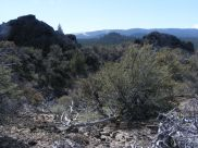 Looking south on the Big Nasty Trail