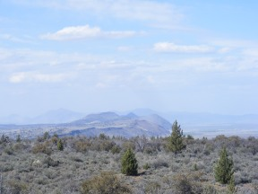 On the Whitney Butte Trail, looking north to Gillem Bluff