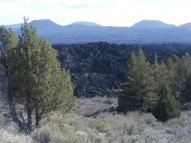 Callahan Flow to the south of Whitney Butte, Lava Beds National Monument