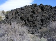 A toe of the Callahan Flow, Lava Beds National Monument