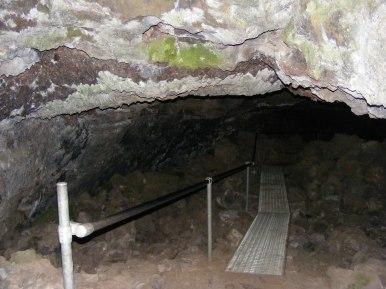 Interior of the Merrill Cave