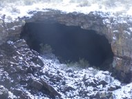 Unnamed backcountry cave in Lava Beds National Monument
