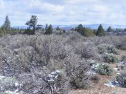 Looking east from the eastern boundary of Lava Beds National Monument, Clear Lake Hills on the horizon