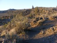 The setting at the picnic area at Fleener Chimneys, Lava Beds National Monument