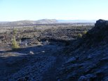 Gillem Bluffs seen from Black Crater in Lava Beds National Monument