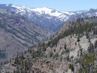 West Elk breccia forms more pinnacles and hoodoos on West Elk Creek