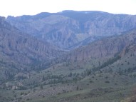 The West Elk Creek drainage