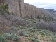Dillon Pinnacles in Curecanti National Recreation Area