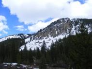 Unnamed high ridge above South Quartz Creek