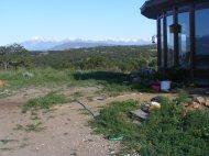 Sangre de Cristo Mountains north of Medano Pass; Mount Herard on the left. Intermediate ridge is Black Mountain