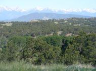 Black Mountain and behind, the Sangre de Cristo Range