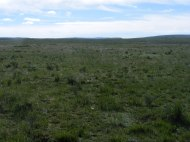 Rolling grasslands of the Promontory Divide, the country line between Custer and Huerfano Counties