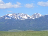 Mount Herard, on left