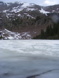 Frozen Mill Lake, the Ides of June, 2015
