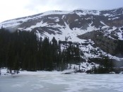 A wet, cold Spring has kept the high country well chilled