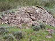 Conglomerate rock on Bear Creek