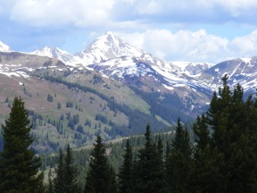 Mid-June on Reno Ridge and a spectacular view of the Elk Mountains