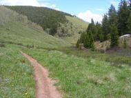 Deadman Gulch Trail on a fine late Spring day