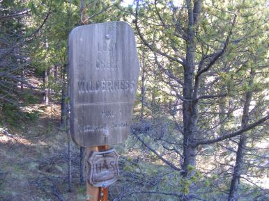 On the Brookside-McCurdy Trail just south of Lost Park Trailhead