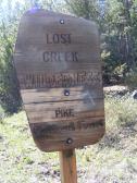 On the Wigwam Trail, near Lost Park Trailhead