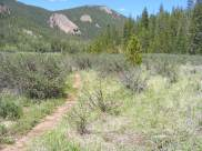 The Wigwam Trail between the eponymous creek and East Lost Park