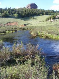 Lost Creek flowing through East Lost Park