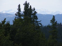 From the knoll west of Bison Pass in the Lost Creek Wilderness, looking north towards the South Platte Mountains