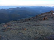 Northwest from Bison Peak