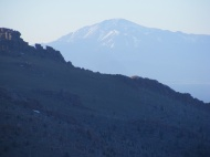 Pike's Peak seen from the Tarryall Mountains