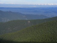 South Park from Tarryall Mountains