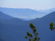 A view from the Ute Creek Trail in the Lost Creek Wilderness