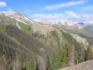 The San Juan Mountains in the vicinity of Alpine Gulch