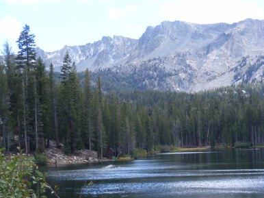 Lake Mamie shoreline