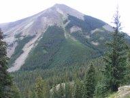 Whetstone Mountain seen from Gibson Ridge