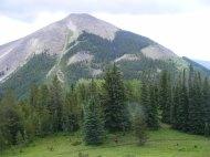 Whetstone Mountain above Gibson Ridge
