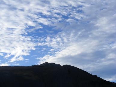 Mount Washburn in Shadow